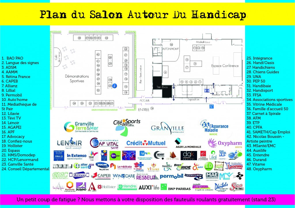 Plan salon 2016 - programme